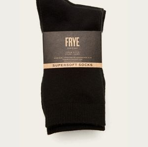Frye Accessories - Frye 3 Pack Supersoft Basic Crew Sock - Women